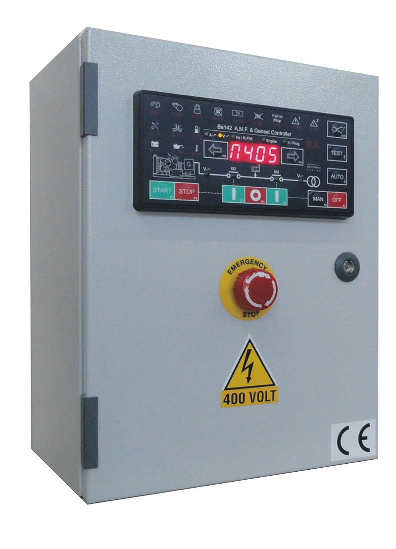 hight resolution of automatic mains failure control panel