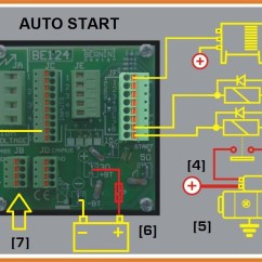 Remote Stop Start Wiring Diagram 99 Civic Ac Automatic Generator And Great Circuit The Push Button Control