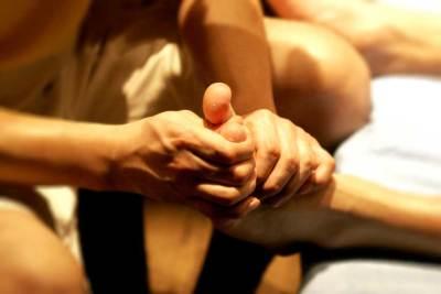 Sportmassage voetmassage
