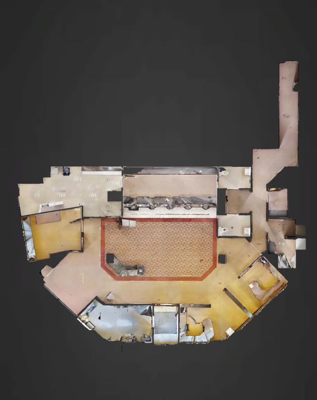 Matterport Floorplan View