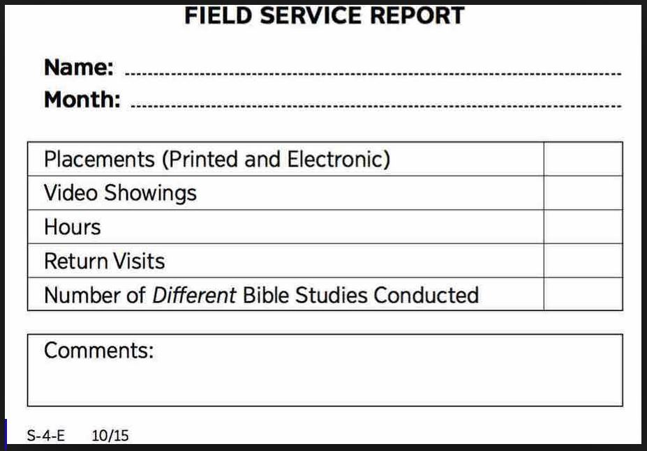 Should You Report Field Service?  Beroean Pickets  Jw