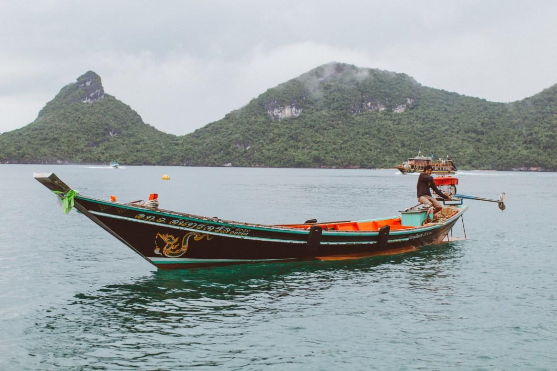 Ausflug zum Ang Thong Marine Nationalpark