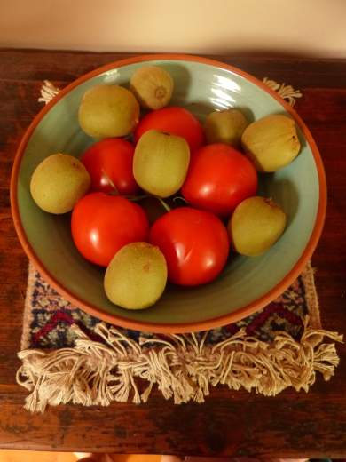 Intervention group 1: ripening in the bowl