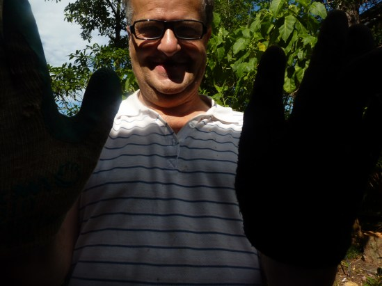 Uncle Harry, bug killer extraordinaire