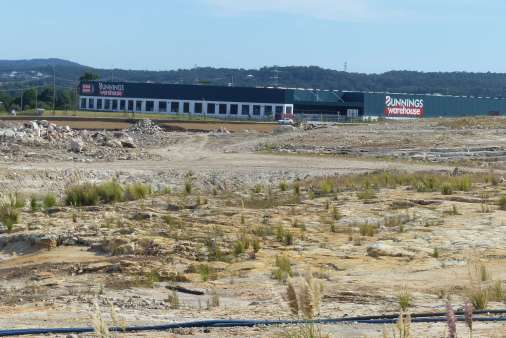 """Bunnings in the """"Sulphide"""" smelter site"""