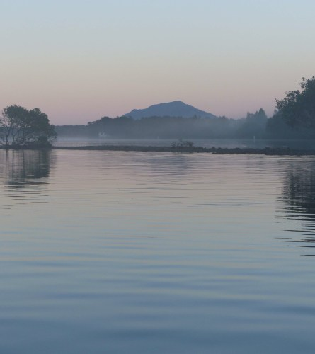 South Brother Mountain in dawn light