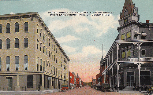 Berrien County Michigan Postcards Page 2