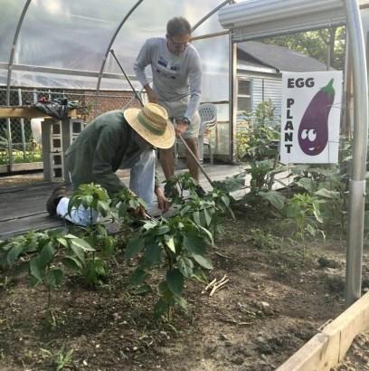 Gardening with Harvey at the Fresh Start Children's Garden @ Emma Kinnard's Fresh Start Children's Garden