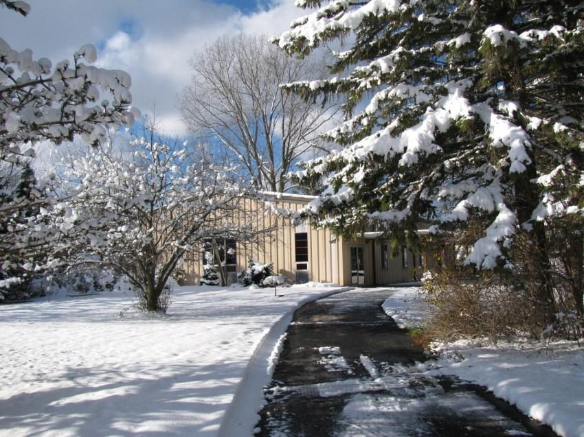 First snow of the season November 22