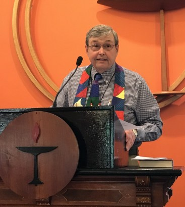 "Sunday Service: ""Celebrating Rev. Jim McConnell's 10th Anniversary with BUUF"" @ Berrien Unitarian Universalist Fellowship"