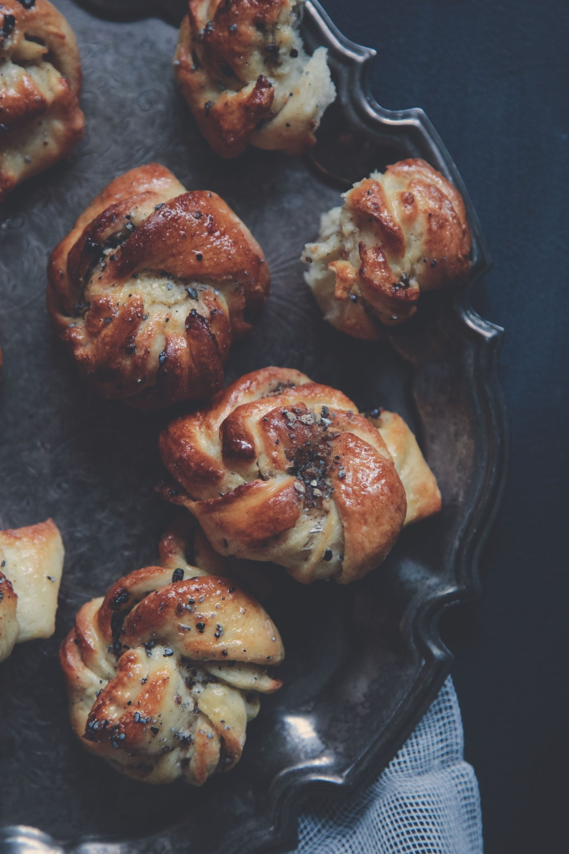 Fluffy Cardamom Buns | Berries and Spice