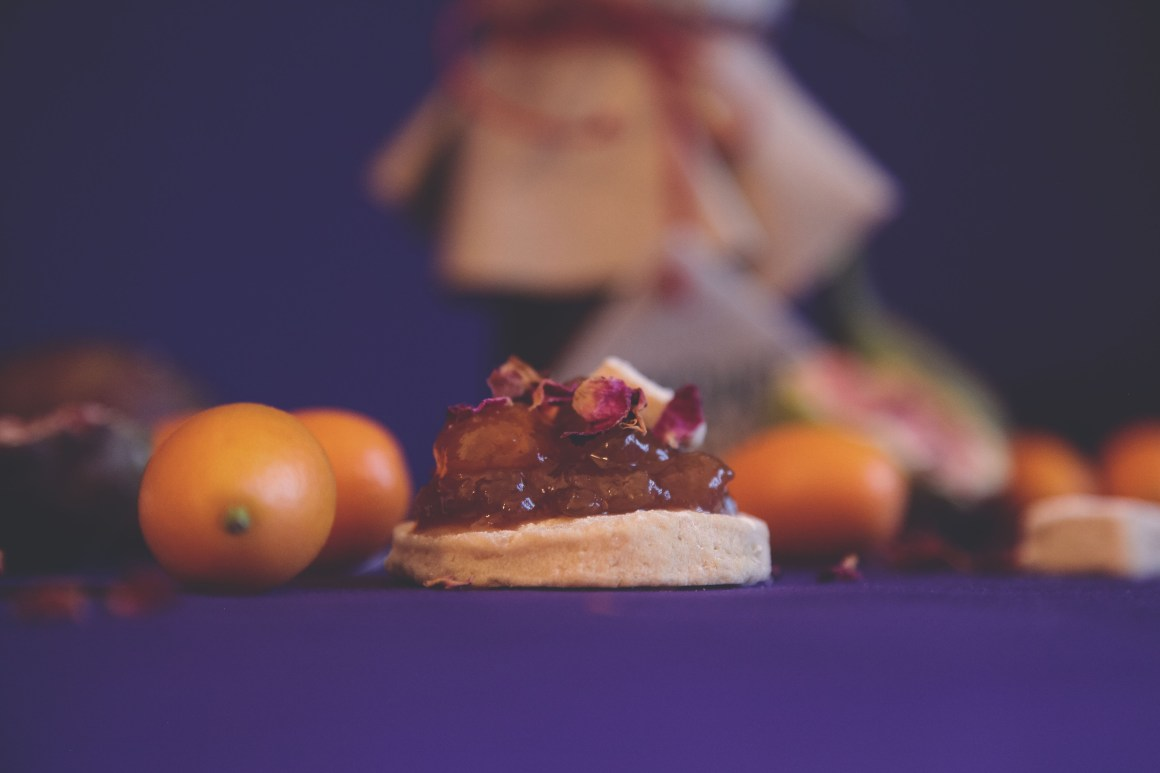 Kumquat, Fig & Rose Water Marmalade | Berries and Spice