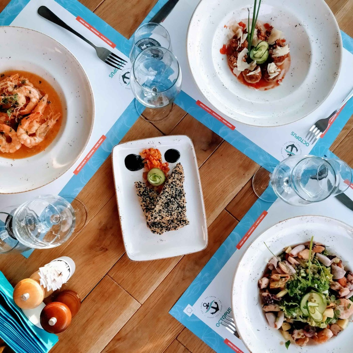 Octopus Eat Greek: flavours of your summer holidays, in the buzzing city (Bucharest) | Berries and Spice
