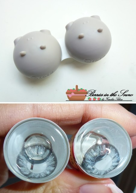 Dueba Crystal.i Grey Circle Lenses