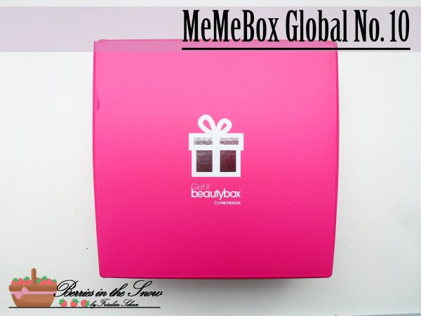 MeMeBox GetItBeautyBox Global No. 10