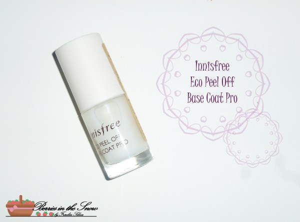 Innisfree Eco Peel Off Base Coat Pro