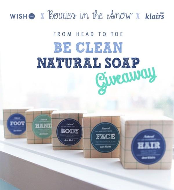 Klairs Be Clean Natural Soap