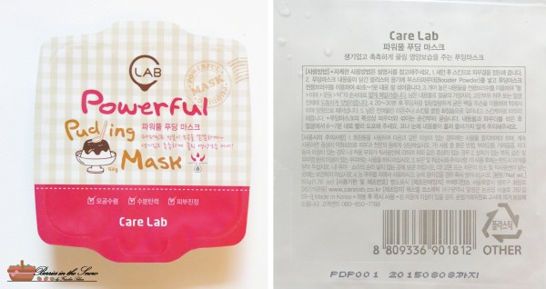Care Lab Powerful Pudding Mask