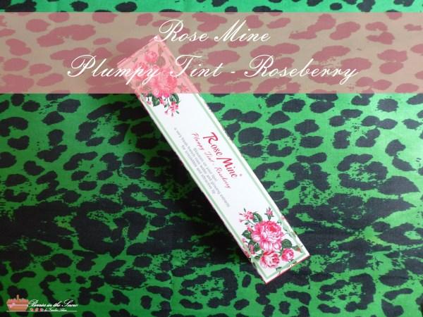 Rosemine Plumpy Tint Roseberry