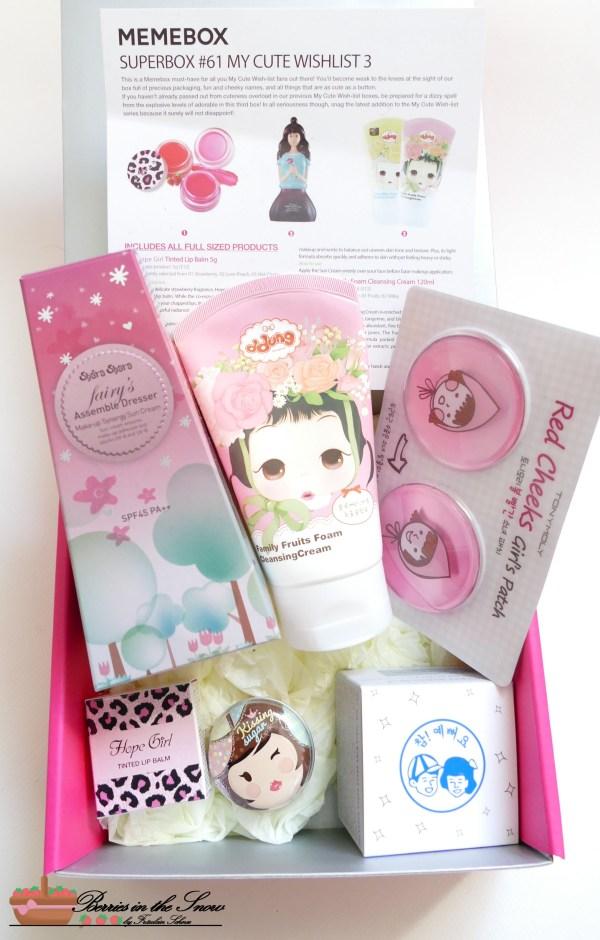 MeMeBox My Cute Wishlist No.3