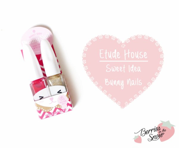 Etude House Sweet Idea Bunny Nails