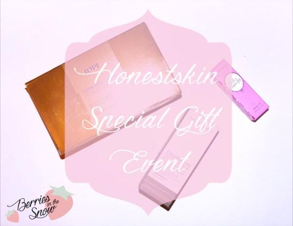 Honestskin Special Gift Event