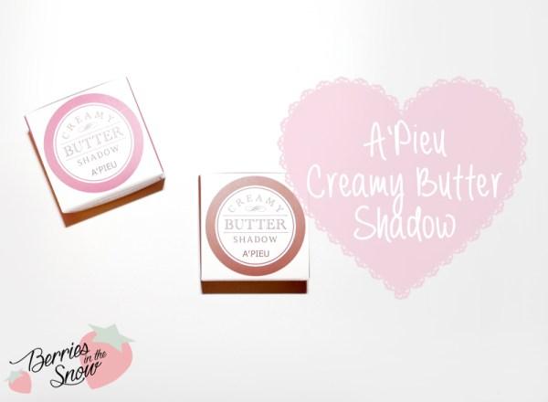 A'Pieu Creamy Butter Shadow