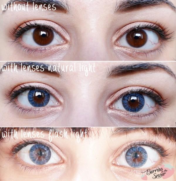 Dueba Crystal.i Grey Circle Lenses