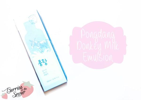 Pongdang Donkey Milk Emulsion