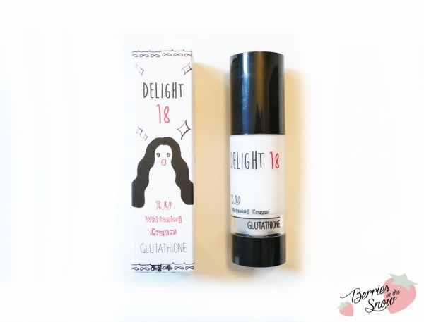 Delight 18 I.U Whitening Cream Glutathione