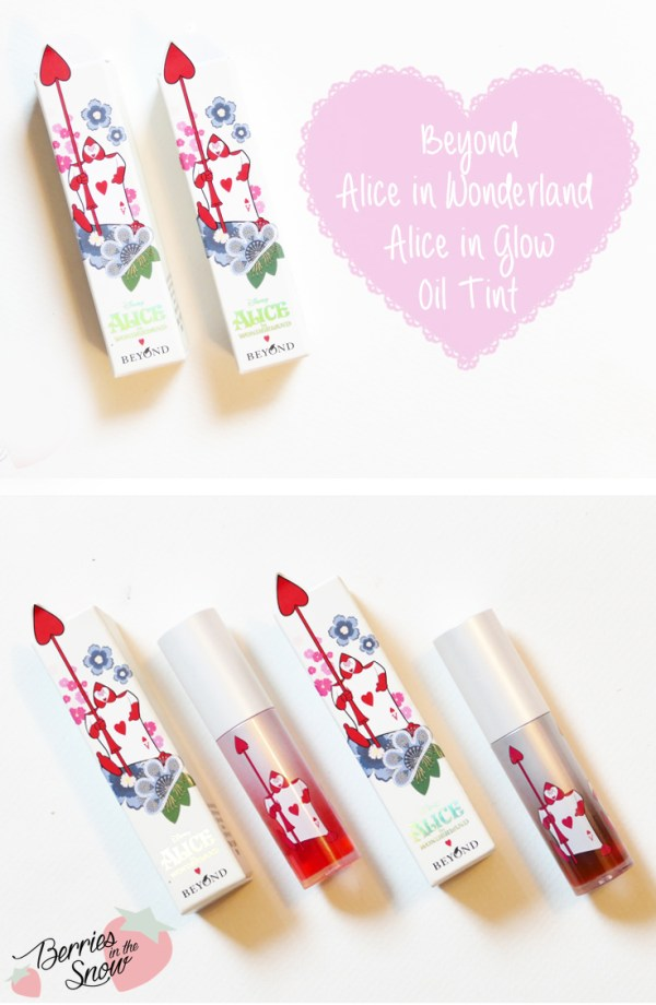 Beyond Alice in Glow Oil Tints
