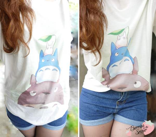 Totoro inspired Outfit by Romwe