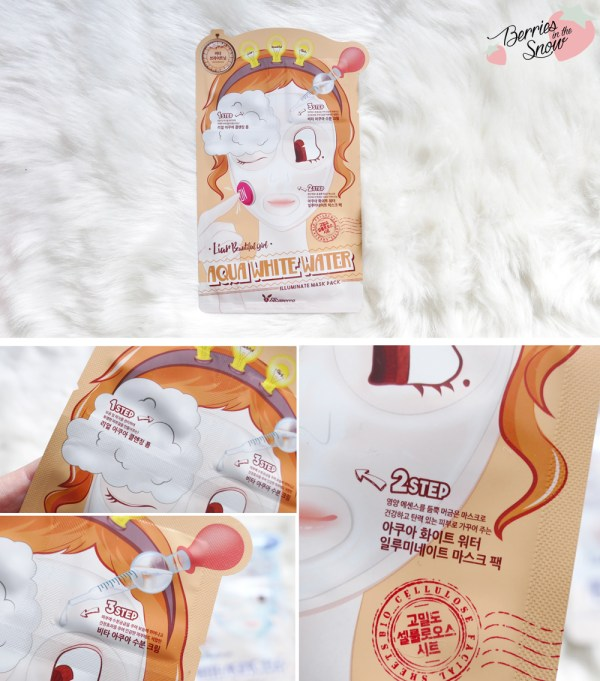 Elizavecca 3 Step Sheet Masks