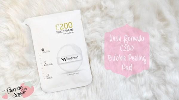 Wish Formula C200 Bubble Peeling Pad