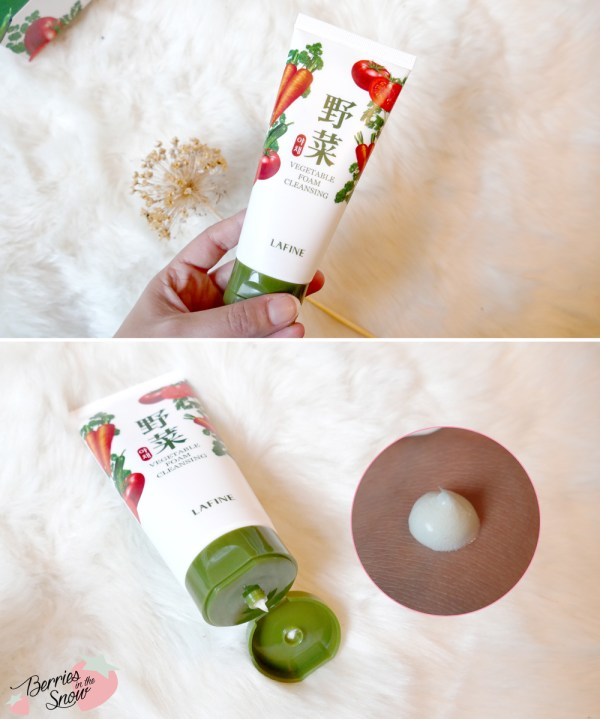 Lafine Vegetable Foam Cleanser