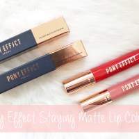 Review: Pony Effect Staying Matte Fit Lip Colour