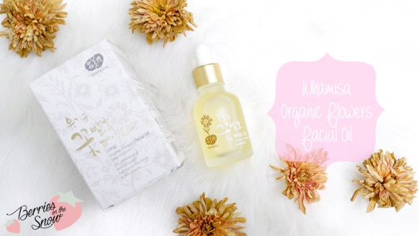 Whamisa Organic Flowers Facial Oil