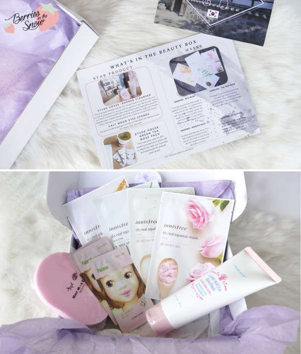 Inspire Me Korea Cleanse Me Beauty Box
