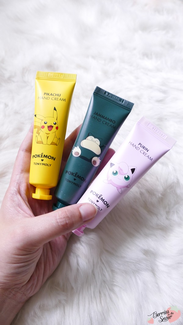 Tonymoly Pokemon Hand Creams