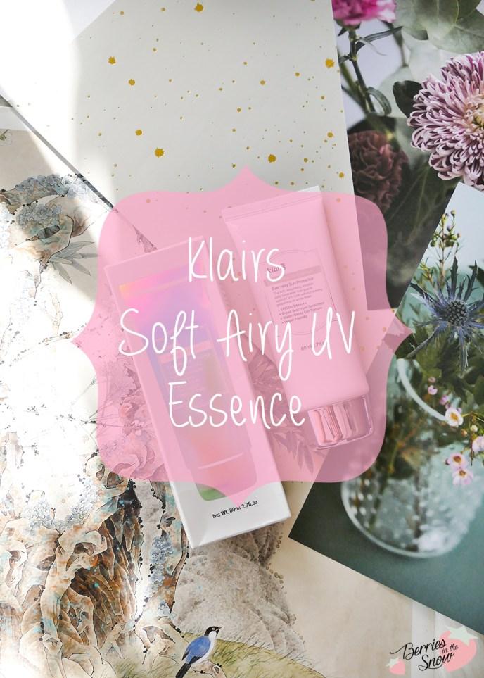 Klairs Soft Airy UV Essence