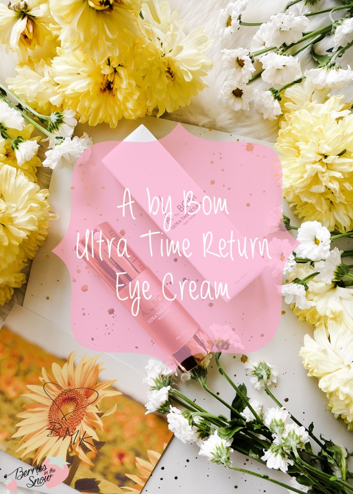 A by Bom Ultra Time Return Eye Cream