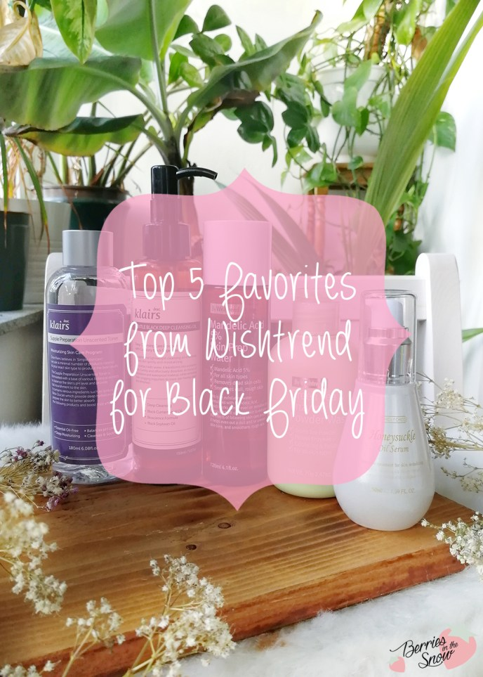 Top 5 Favorites from Wishtrend