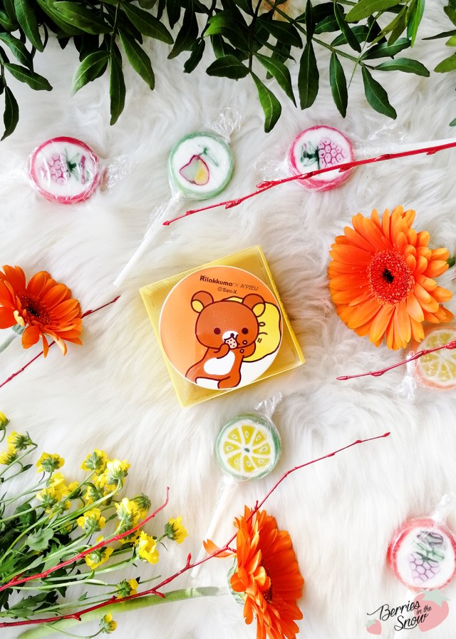 A'Pieu x Rilakkuma Air-Fit Cushion Blusher
