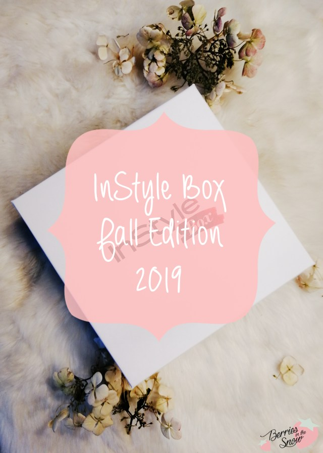 InStyle Box Fall Edition 2019