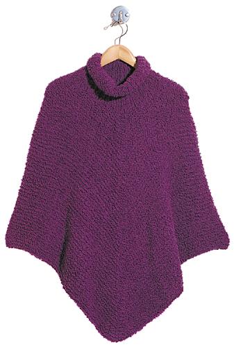Paige free poncho knitting pattern