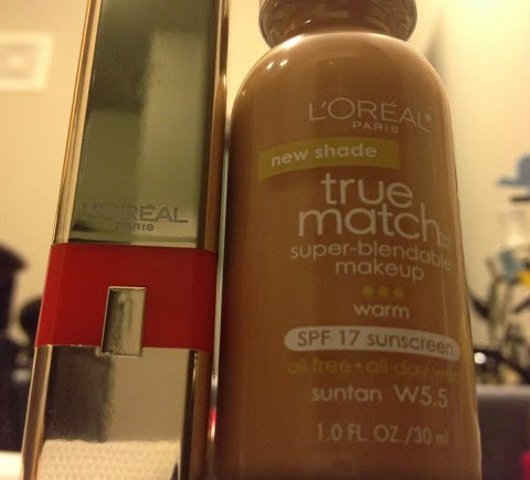 L'Oreal True Match liquid foundation in W5.5 Suntan