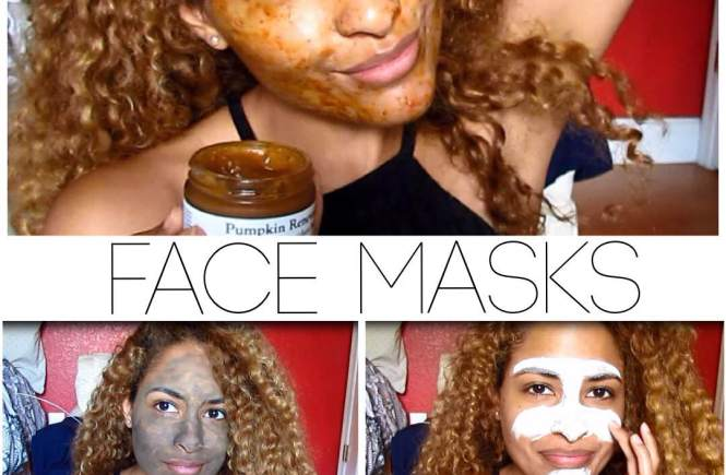 Pumpkin Peel, Dead Sea Mud Mask, and Clay Mask