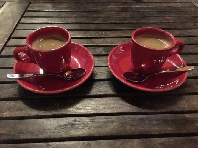 Doc B's espresso shots