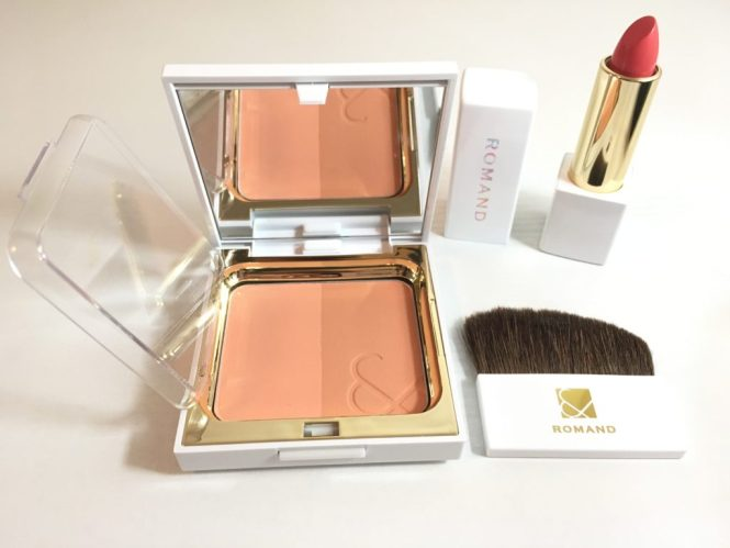 Romand lipstick and blush