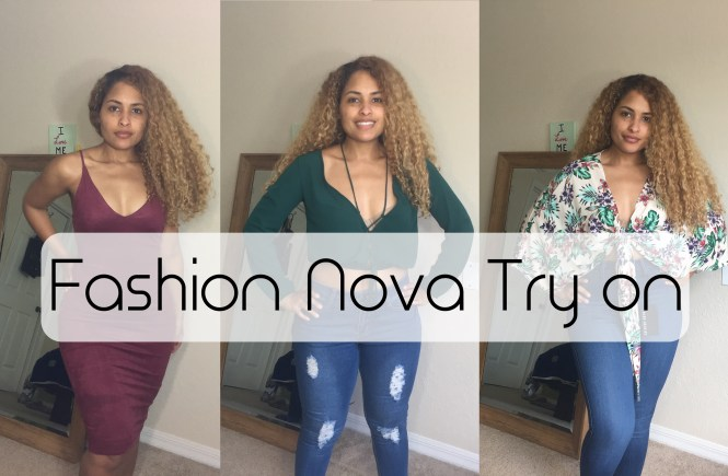 Fashion Nova Try On
